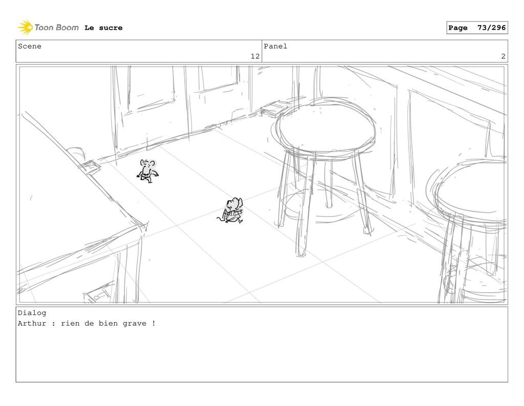 Scene 12 Panel 2 Dialog Arthur : rien de bien g...