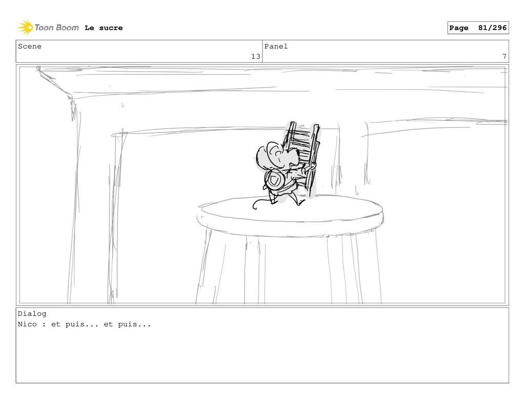 Scene 13 Panel 7 Dialog Nico : et puis... et pu...