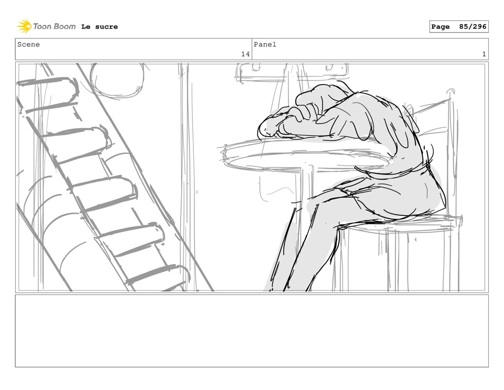 Scene 14 Panel 1 Le sucre Page 85/296