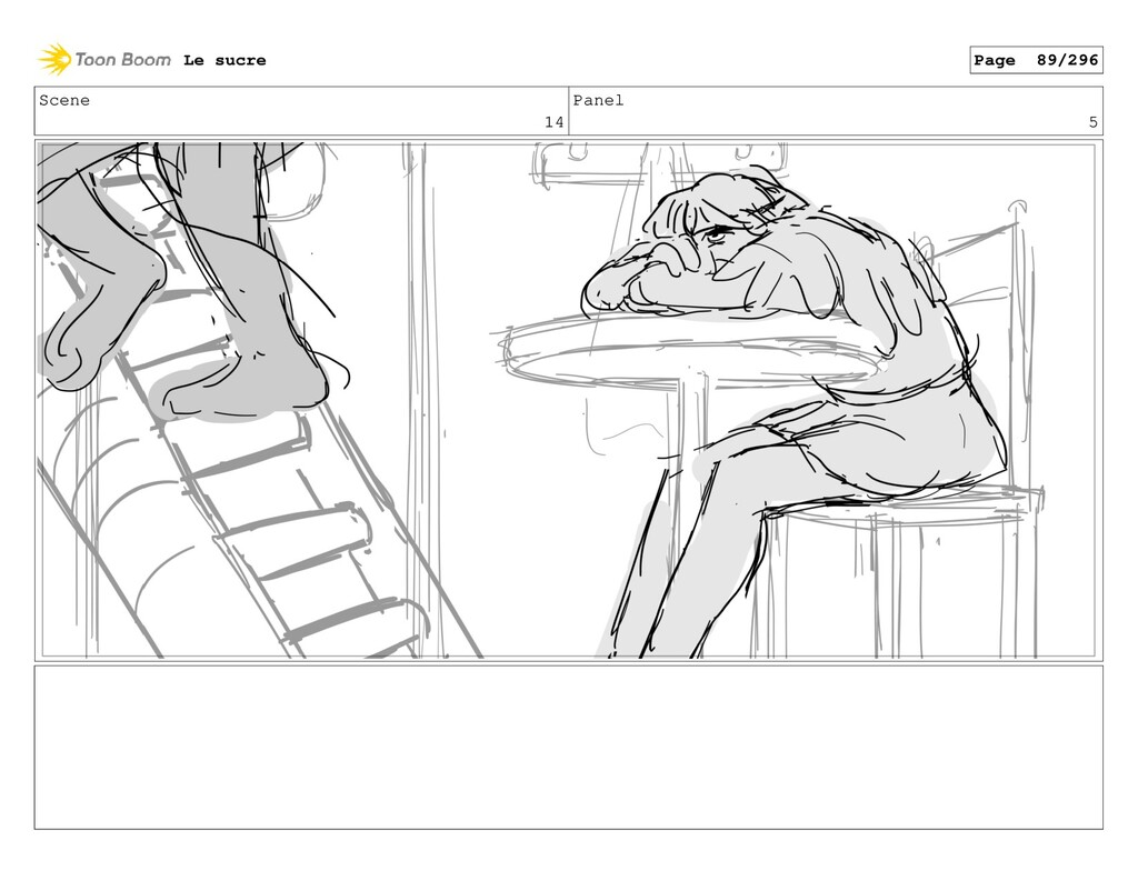 Scene 14 Panel 5 Le sucre Page 89/296