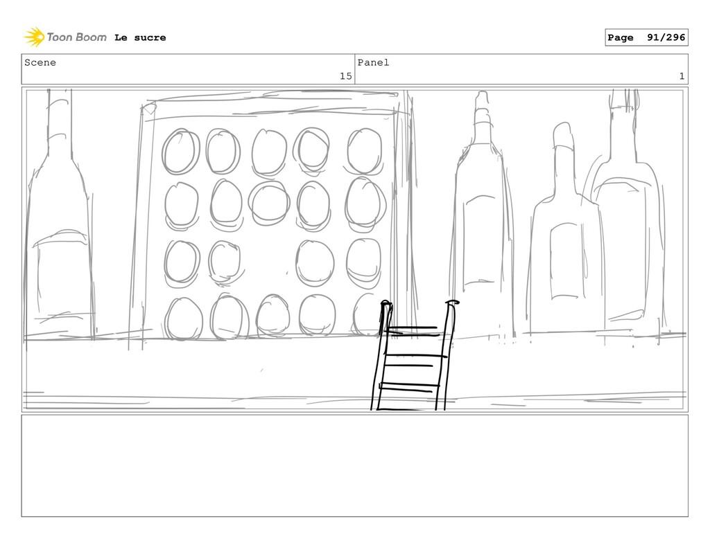 Scene 15 Panel 1 Le sucre Page 91/296