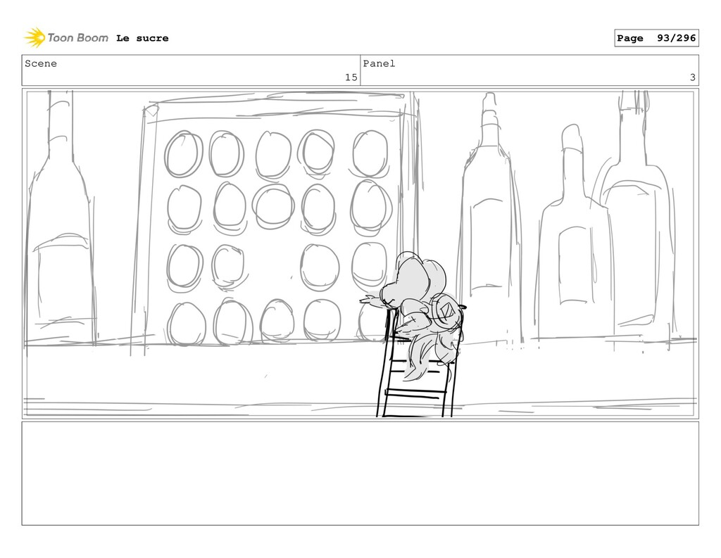 Scene 15 Panel 3 Le sucre Page 93/296