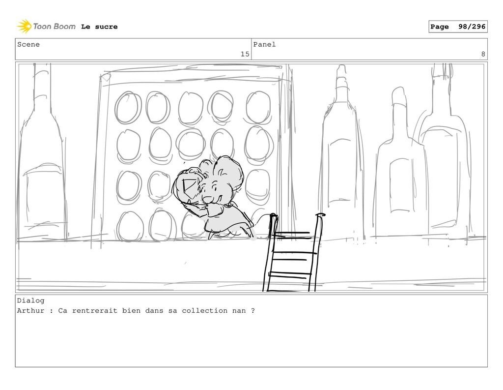 Scene 15 Panel 8 Dialog Arthur : Ca rentrerait ...