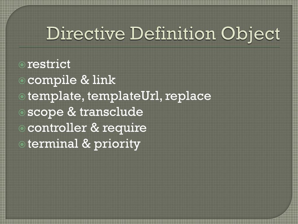 restrict compile & link template, templateUr...
