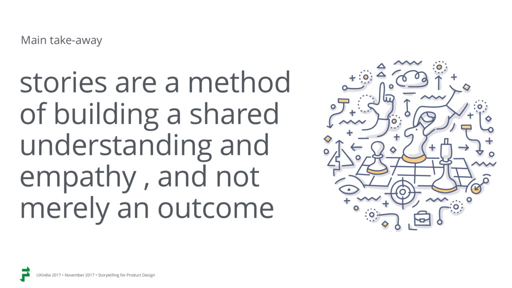 stories are a method  of building a shared  u...