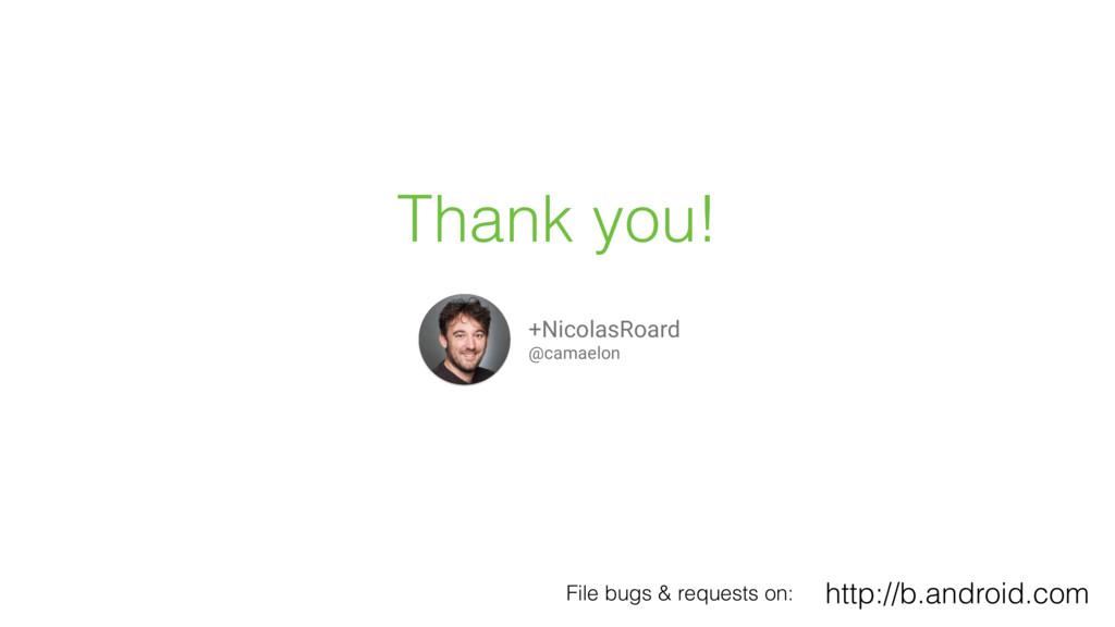 Thank you! +NicolasRoard @camaelon http://b.and...