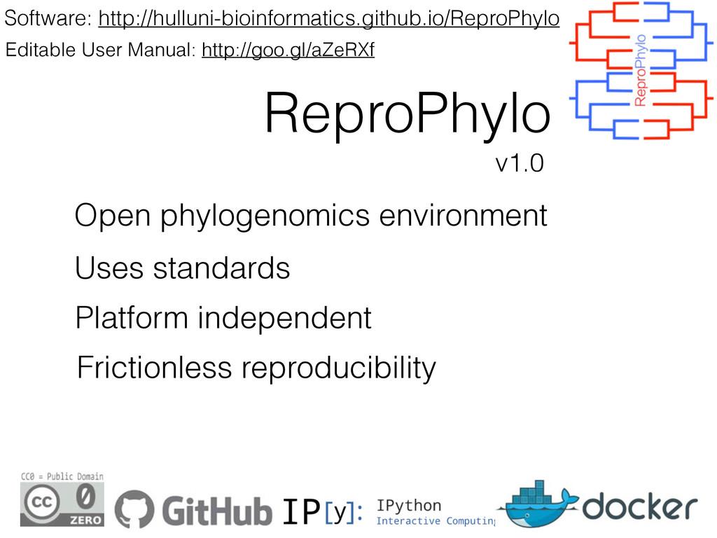 ReproPhylo Software: http://hulluni-bioinformat...