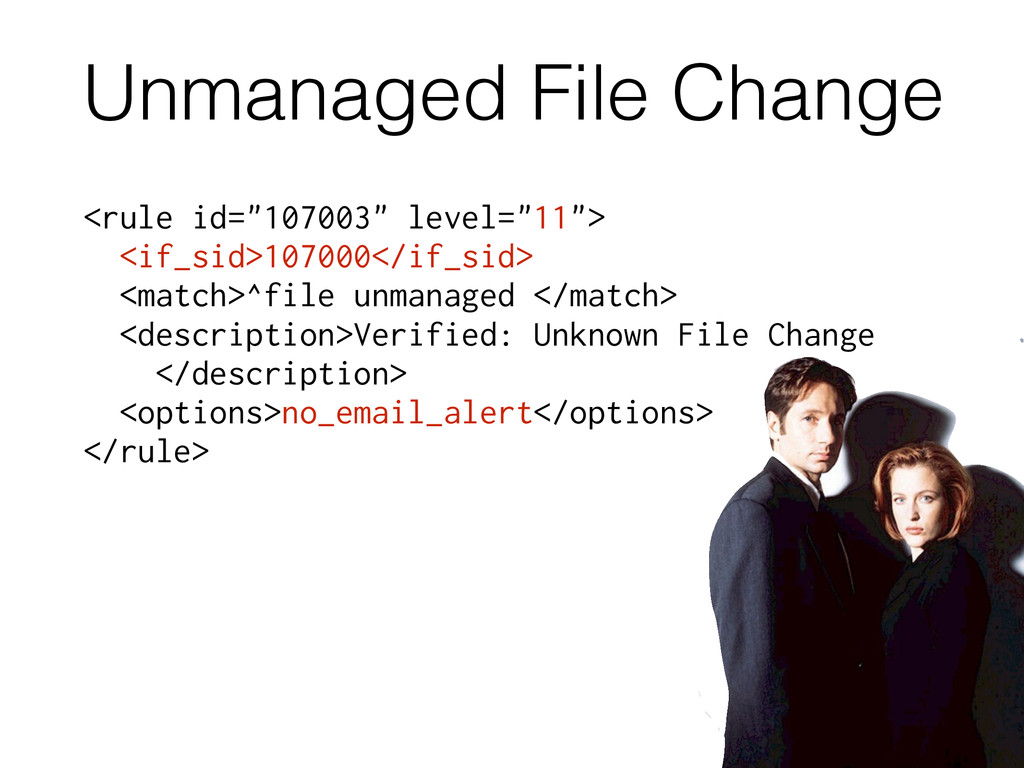 """Unmanaged File Change <rule id=""""107003"""" level=""""..."""