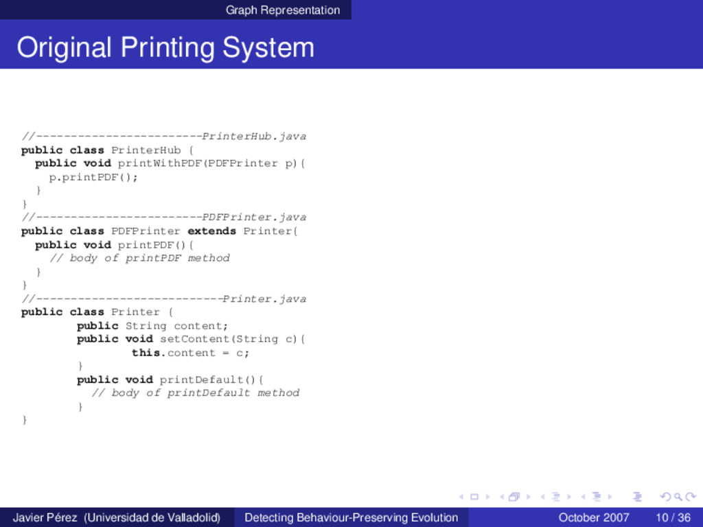 Graph Representation Original Printing System /...
