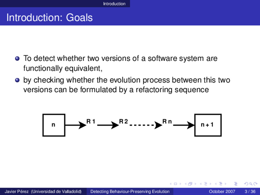 Introduction Introduction: Goals To detect whet...