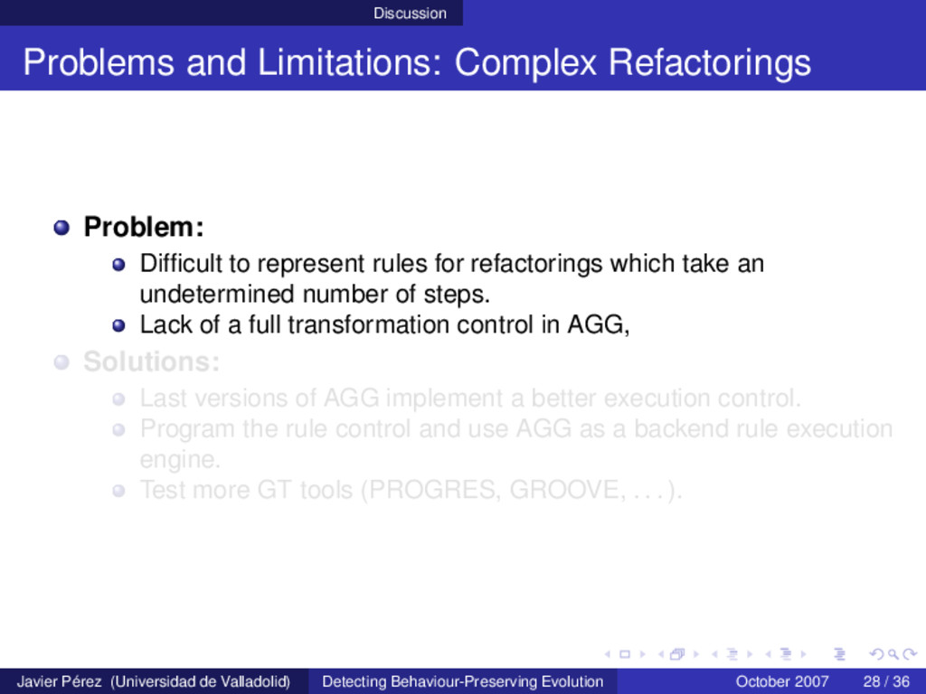 Discussion Problems and Limitations: Complex Re...