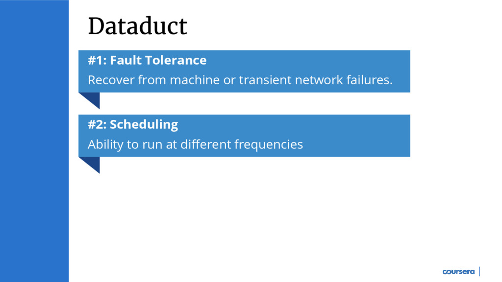 Dataduct #1: Fault Tolerance Recover from machi...