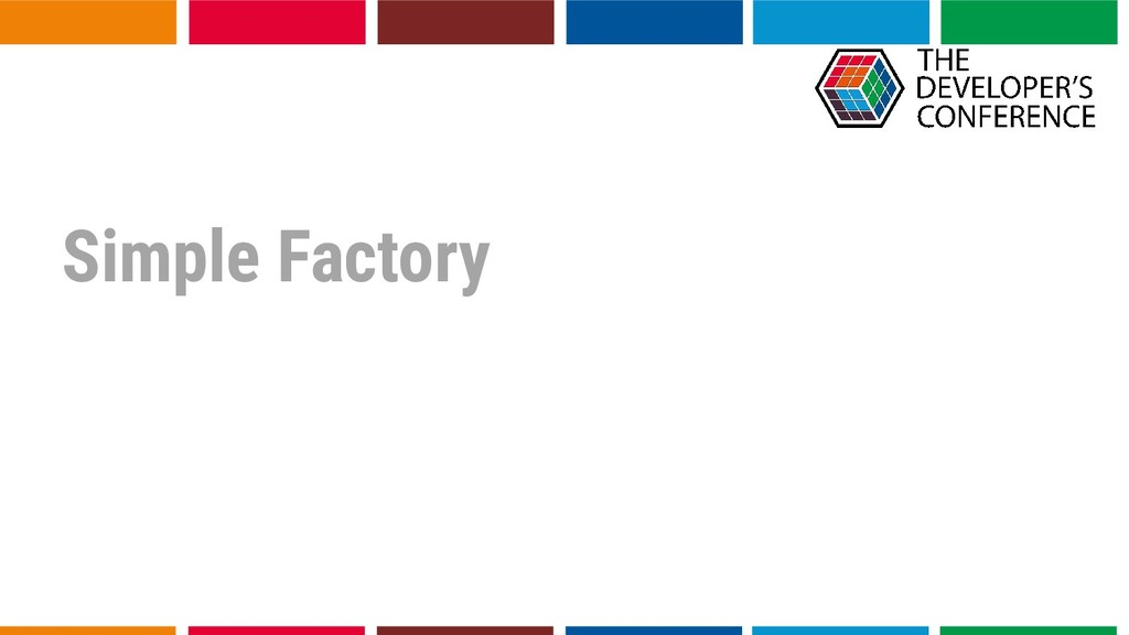 Simple Factory