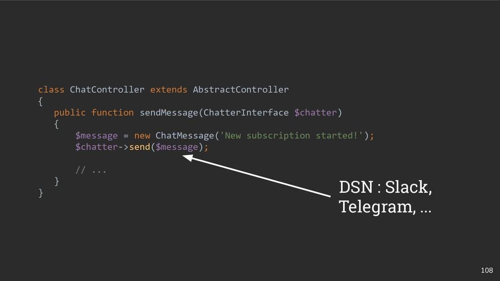 108 class ChatController extends AbstractContro...