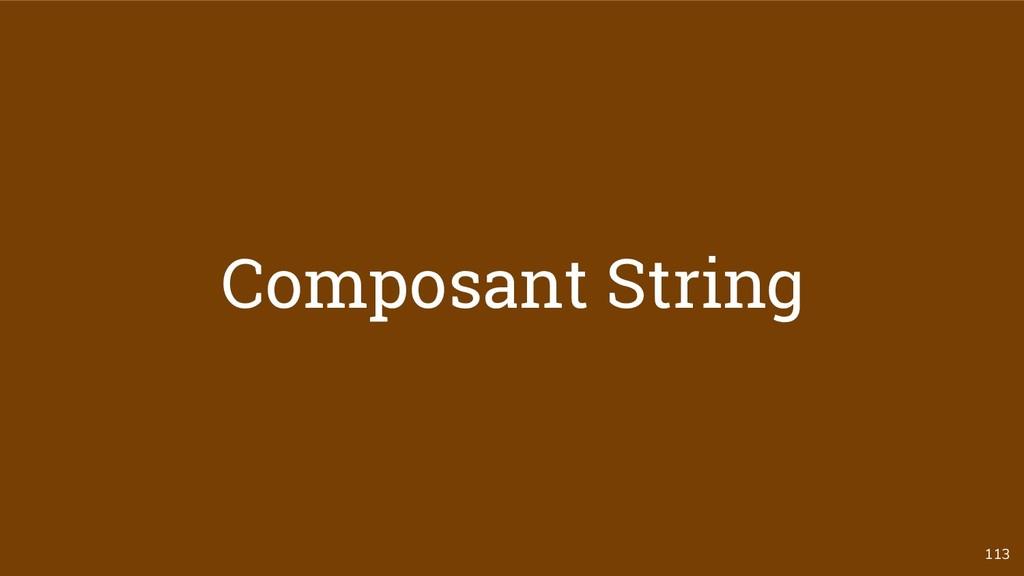 113 Composant String