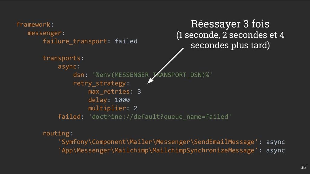 35 framework: messenger: failure_transport: fai...