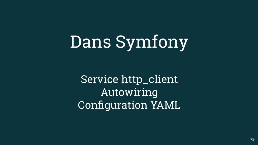 79 Dans Symfony Service http_client Autowiring ...