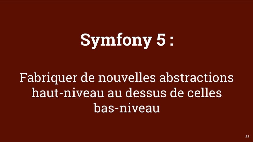 83 Symfony 5 : Fabriquer de nouvelles abstracti...