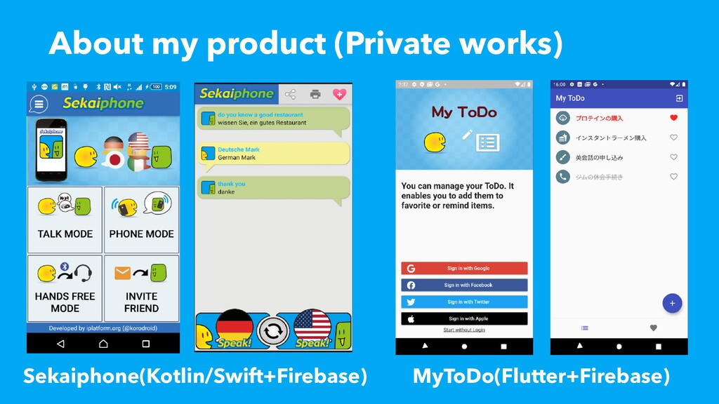 About my product (Private works) Sekaiphone(Kot...
