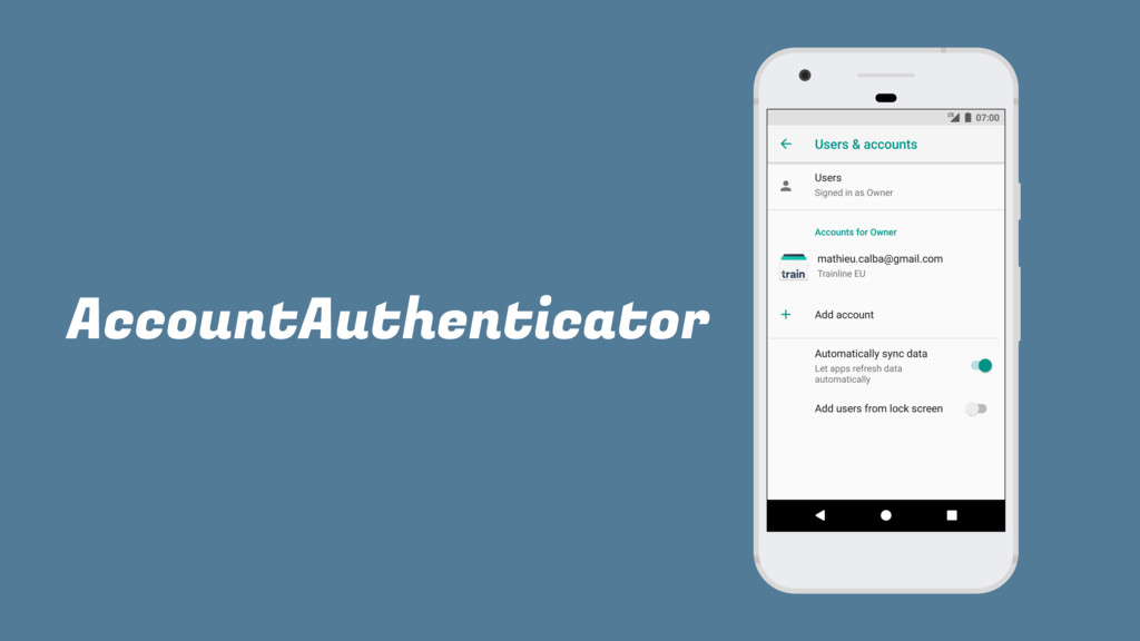 AccountAuthenticator