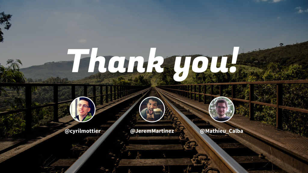 Thank you! @cyrilmottier @JeremMartinez @Mathie...