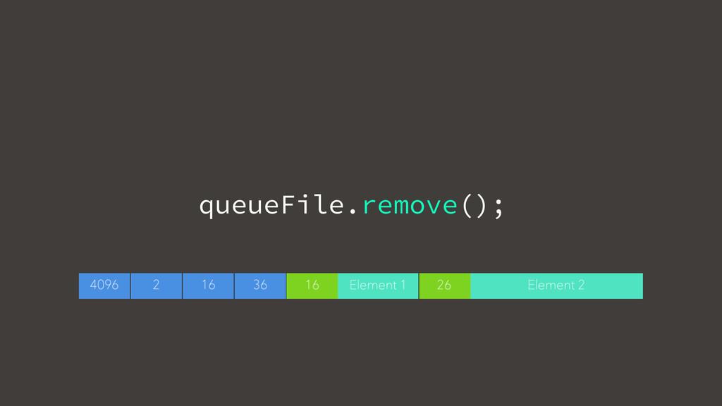queueFile.remove();