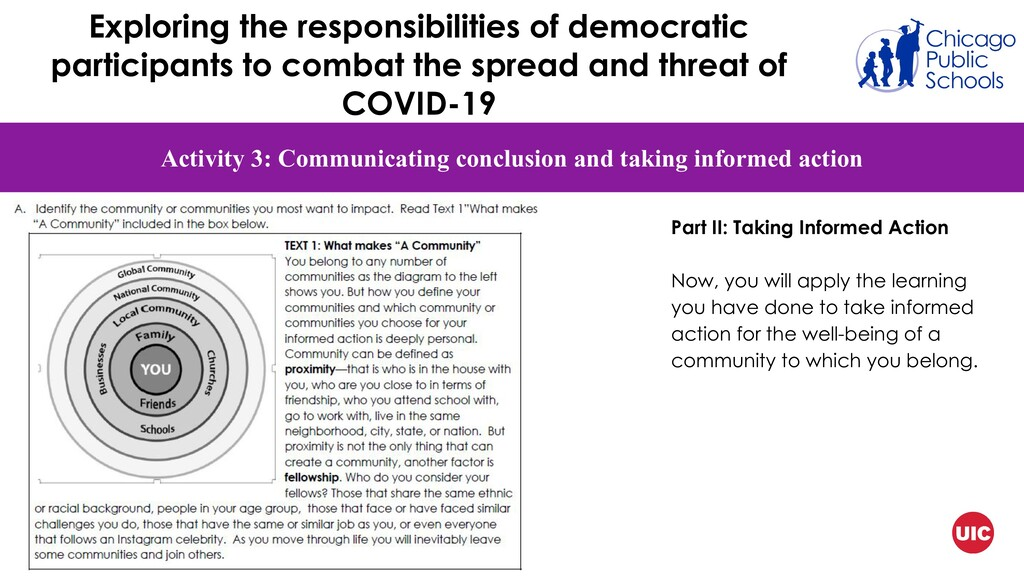 Activity 3: Communicating conclusion and taking...