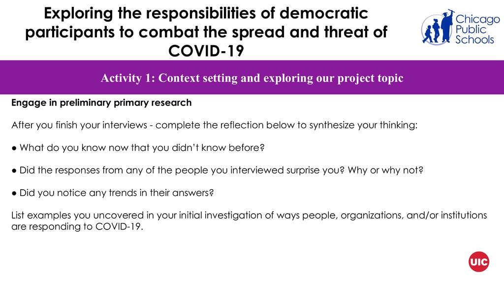 Exploring the responsibilities of democratic pa...