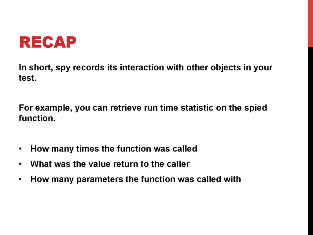 RECAP In short, spy records its interaction wit...