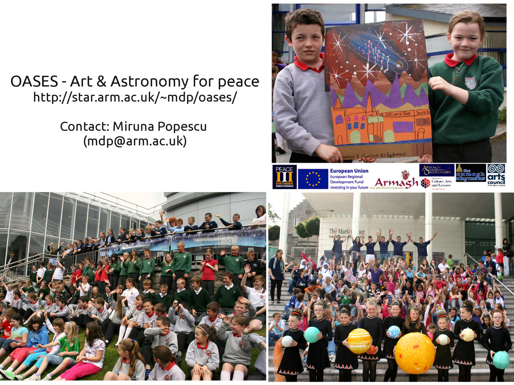OASES - Art & Astronomy for peace http://star.a...