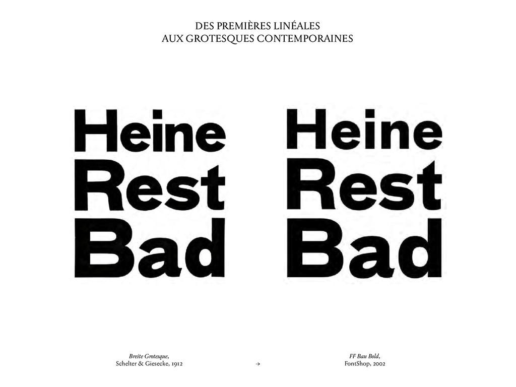 Breite Grotesque, Schelter & Giesecke, 1912 → F...