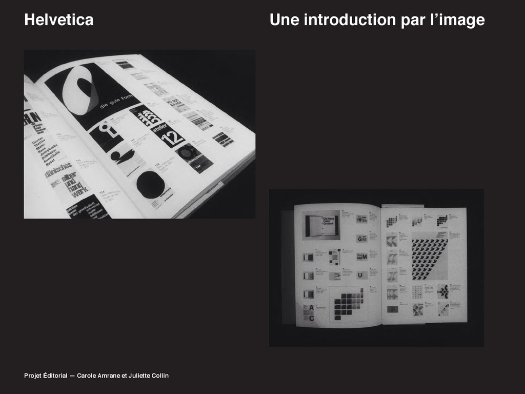 Helvetica 8QHLQWURGXFWLRQSDUO·LPDJH Projet É...