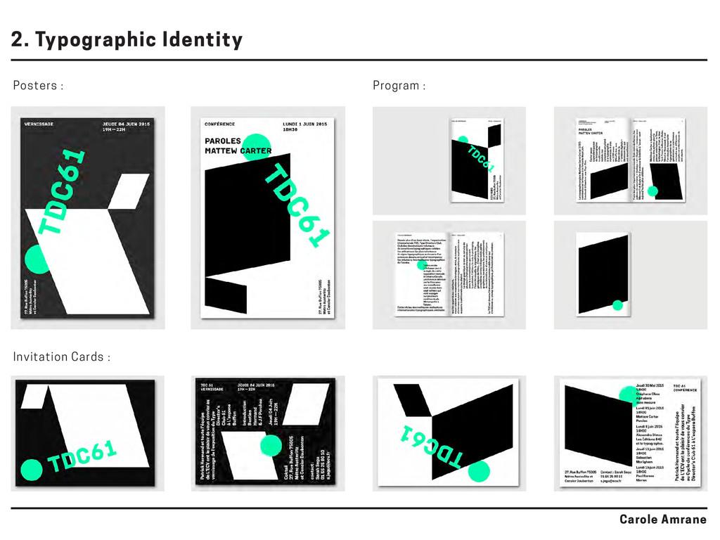 Posters : Program : Invitation Cards : 2. Typog...