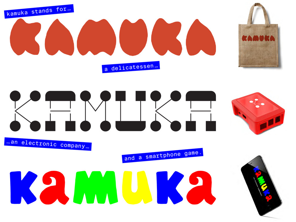kamuka stands for … a delicatessen … … an elect...
