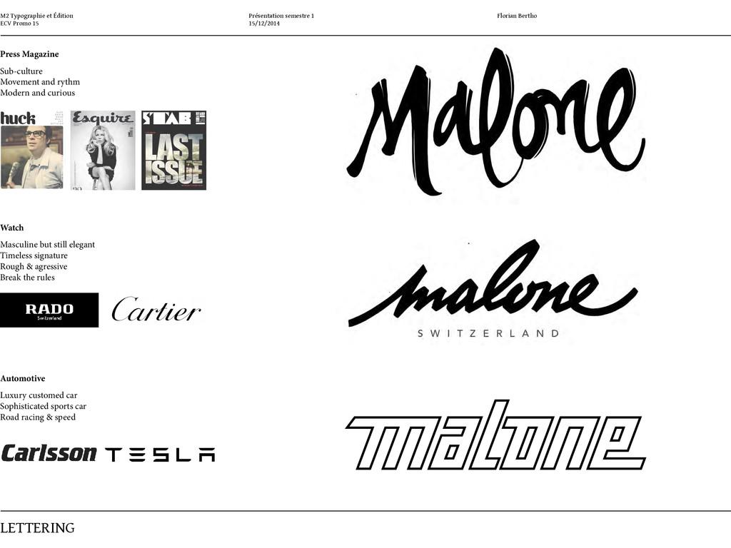 M2 Typographie et Édition ECV Promo 15 LETTErin...