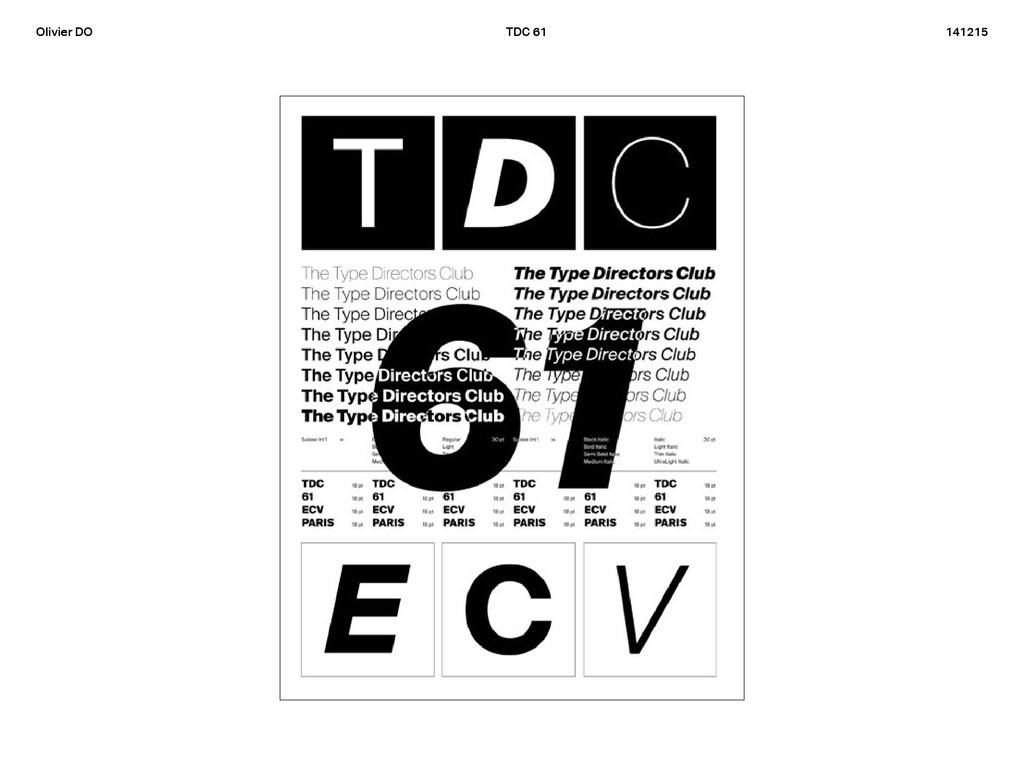 Olivier DO TDC 61 141215 entation
