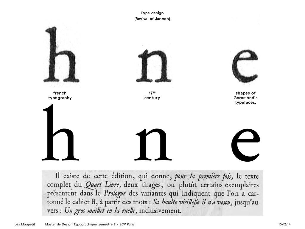 Léa Maupetit Master de Design Typographique, se...