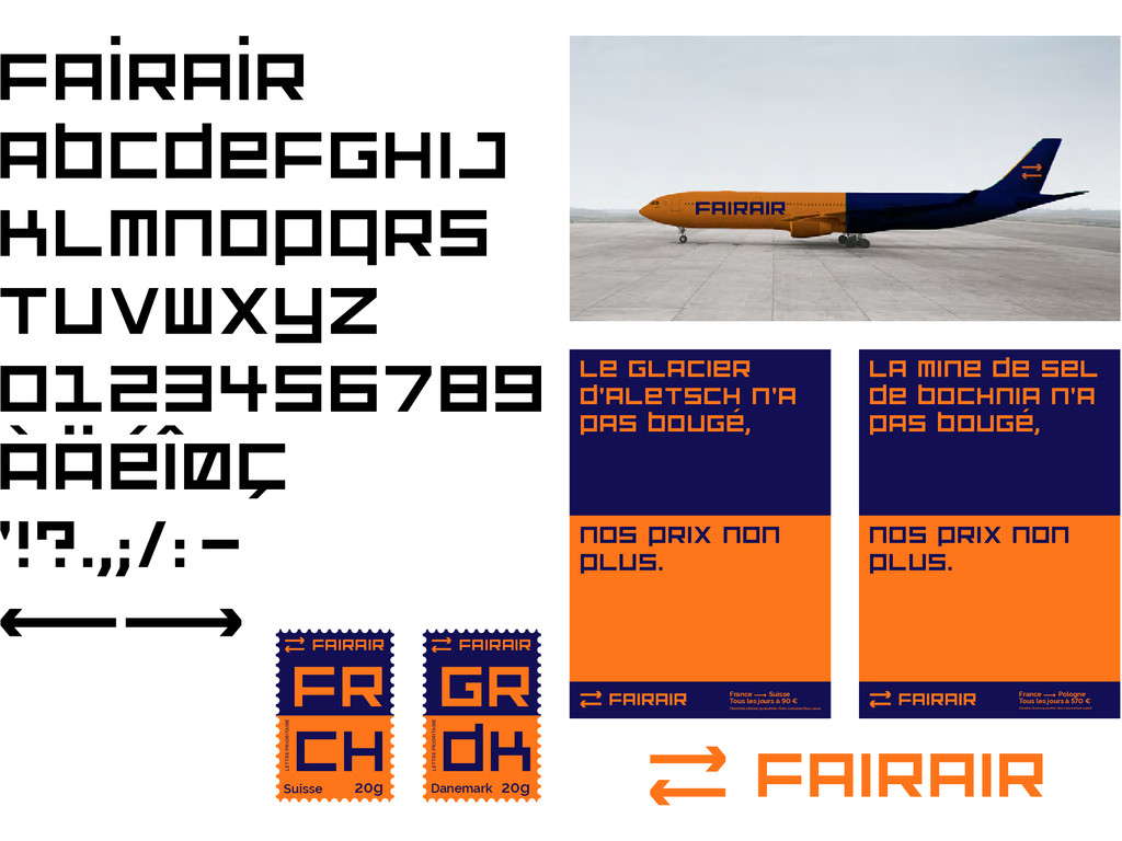 fairair ABCDEfGHIJ KLMNOPQRS TUVWXYZ 0123456789...