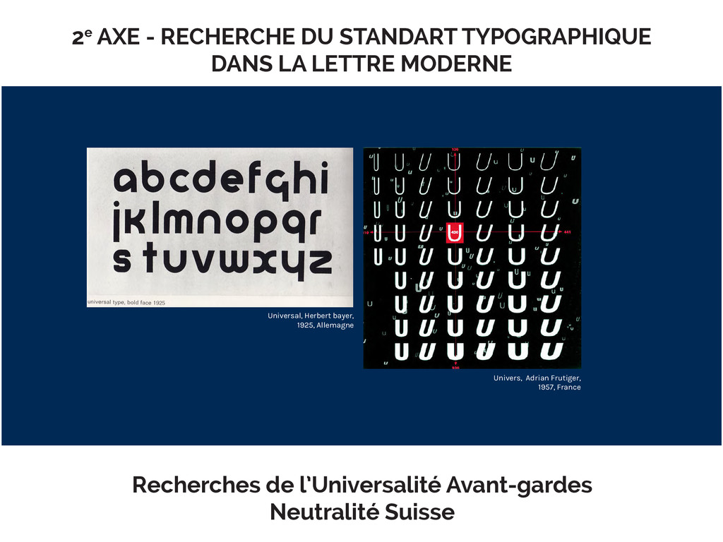 Ɩe AXE - RECHERCHE DU STANDART TYPOGRAPHIQUE DA...