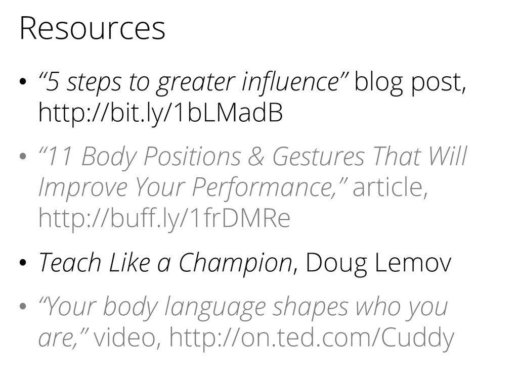 """Resources • """"5 steps to greater influence"""" blog..."""
