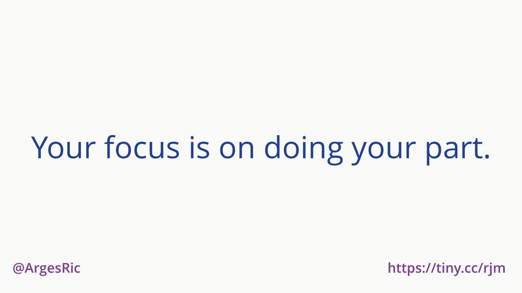 @ArgesRic https://tiny.cc/rjm Your focus is on ...