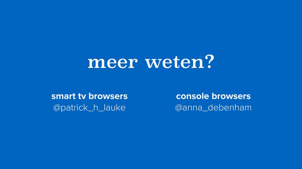 meer weten? smart tv browsers  @patrick_h_lauk...