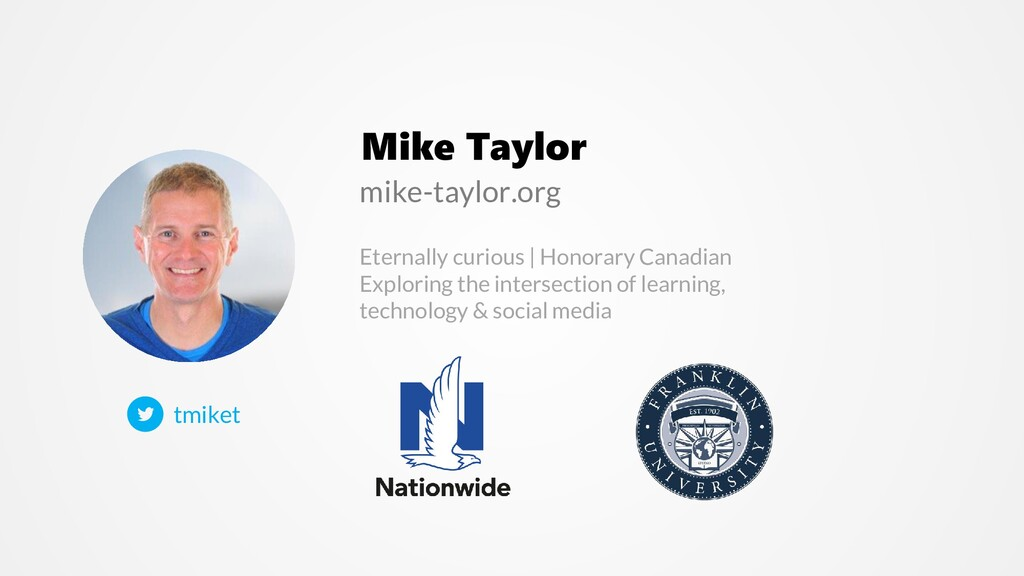 Mike Taylor Eternally curious   Honorary Canadi...
