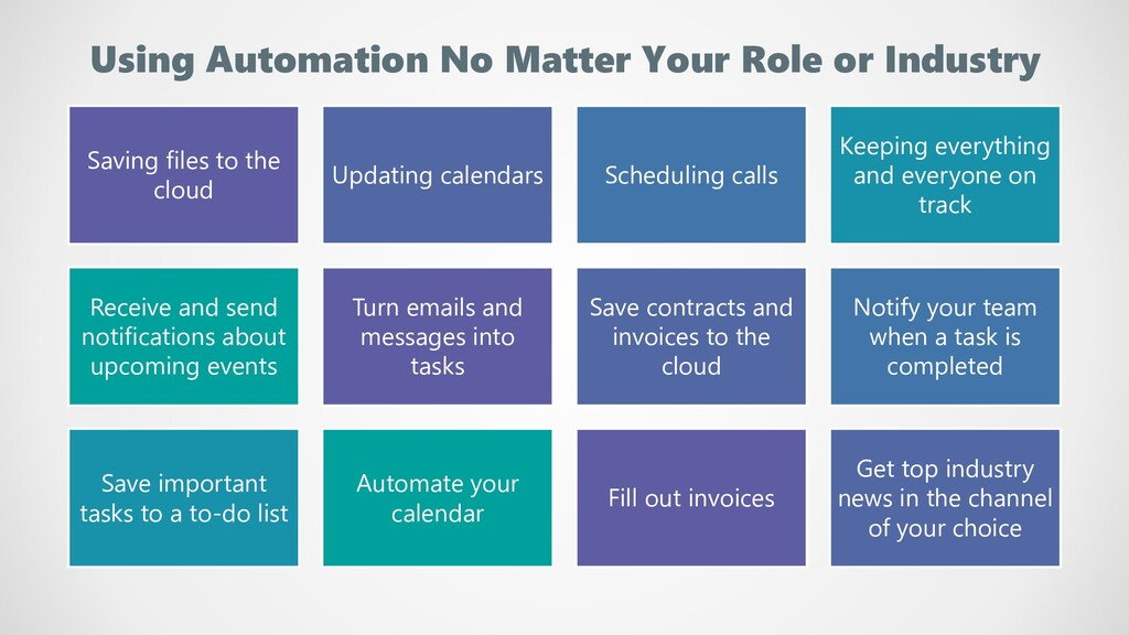 Using Automation No Matter Your Role or Industr...