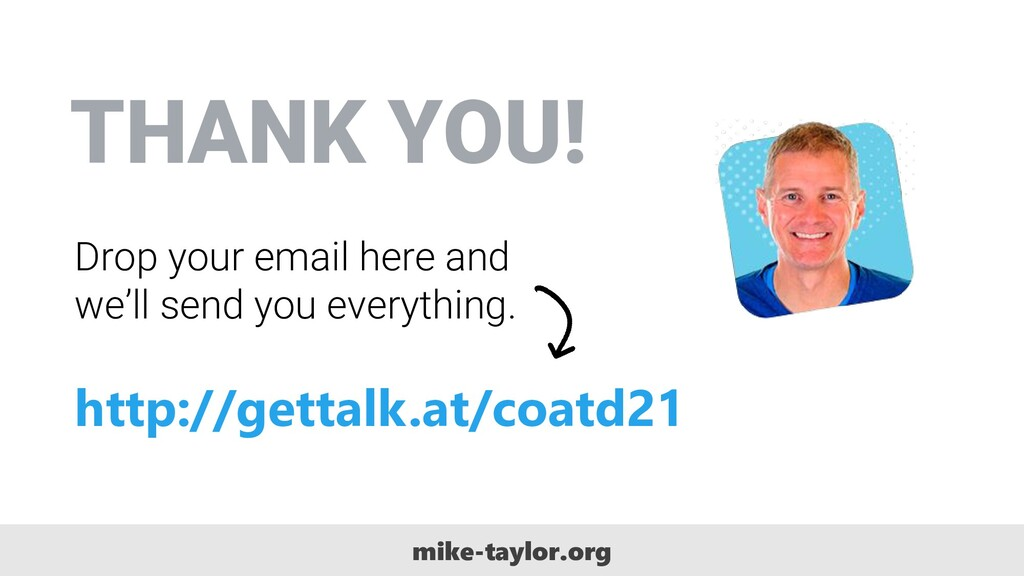 THANK YOU! Drop your email here and we'll send ...