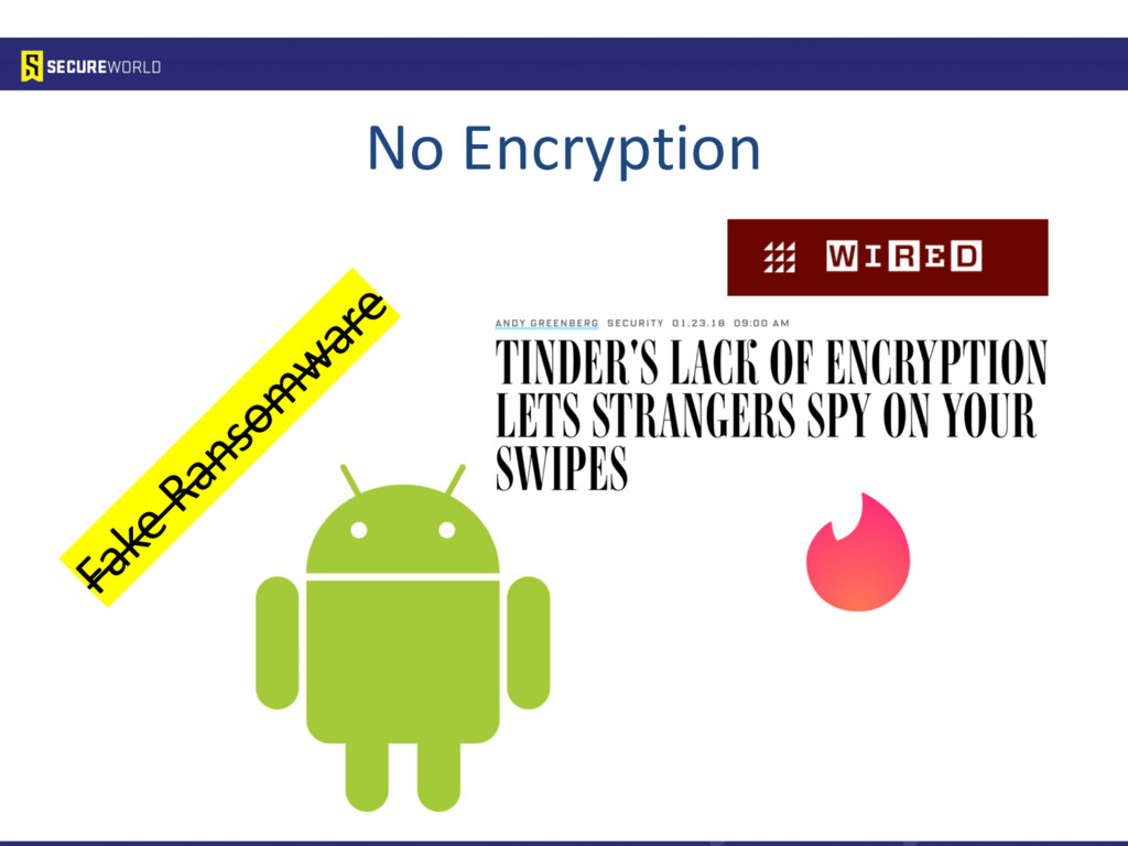 No Encryption Fake Ransom ware