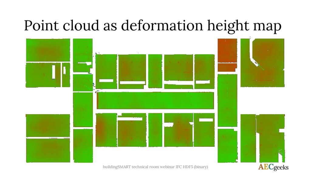 Point cloud as deformation height map buildingS...