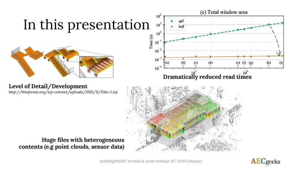 In this presentation Level of Detail/Developmen...
