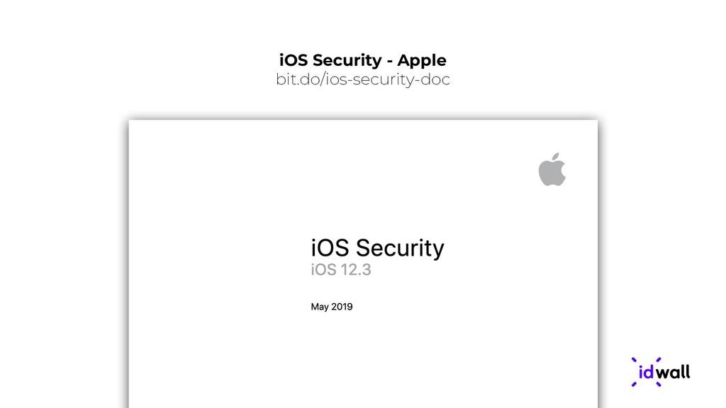 iOS Security - Apple bit.do/ios-security-doc