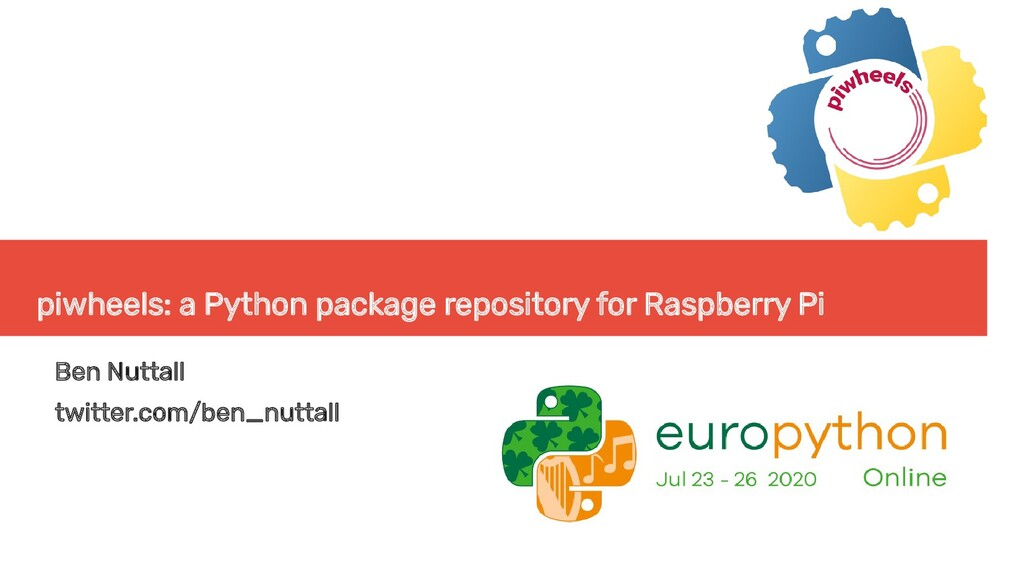piwheels: a Python package repository for Raspb...